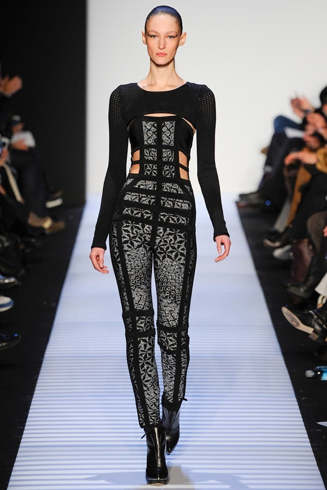 NEW YORK FASHION WEEK Herve Leger by Max Azria RTW Fall 2014. www.imageamplified.com, Image Amplified (8)