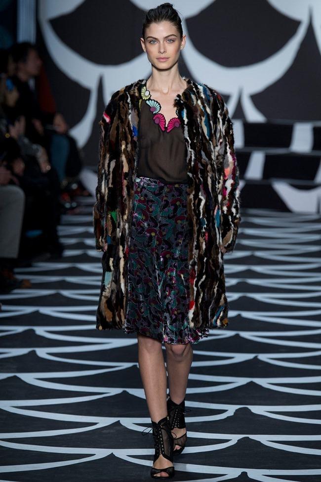 NEW YORK FASHION WEEK Diane von Furstenberg RTW Fall 2014. www.imageamplified.com, Image Amplified (21)