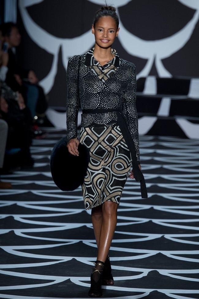 NEW YORK FASHION WEEK Diane von Furstenberg RTW Fall 2014. www.imageamplified.com, Image Amplified (11)