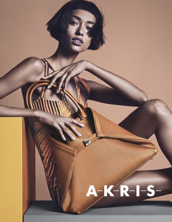 CAMPAIGN Anais Mali for Akris Spring 2014 by Lachlan Bailey. Spela Lenarcic, www.imageamplified.com, Image amplified (1)