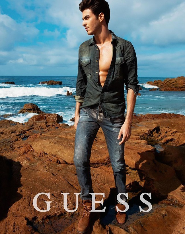 CAMPAIGN Gui Fedrizzi for Guess Spring 2014 by Yu Tsai. www.imageamplified.com, Image Amplified (2)