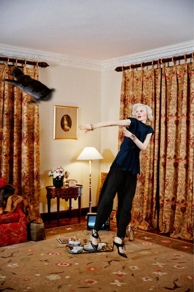 PURPLE FASHION MAGAZINE Julia Nobis by Theo Wenner. Karen Langley, Spring 2014, www.imageamplified.com, Image Amplified (1)