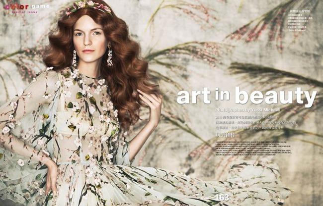 VOGUE TAIWAN Magdalena Langrova in Art in Beauty by Yossi Michaeli. Melaney Oldenhof, February 2014, www.imageamplified.com, Image amplified (1)
