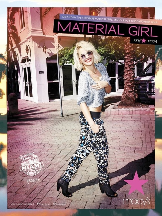 CAMPAIGN Rita Ora for Material Girl Spring 2014. www.imageamplified.com, Image Amplified (3)