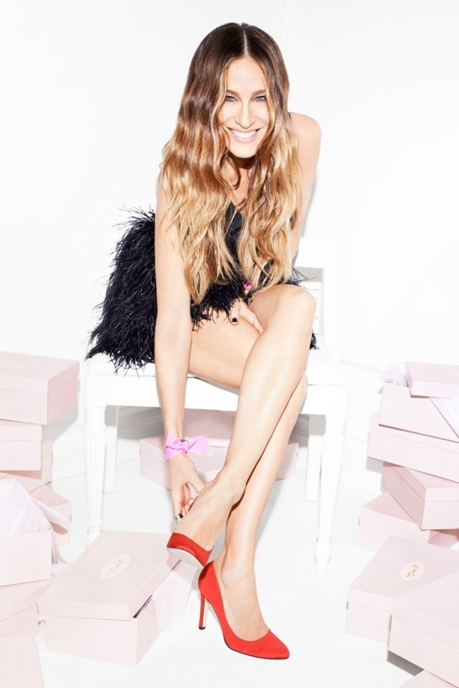CAMPAIGN Sarah Jessica Parker for SJP Shoes Spring 2014. www.imageamplified.com, Image Amplified (17)