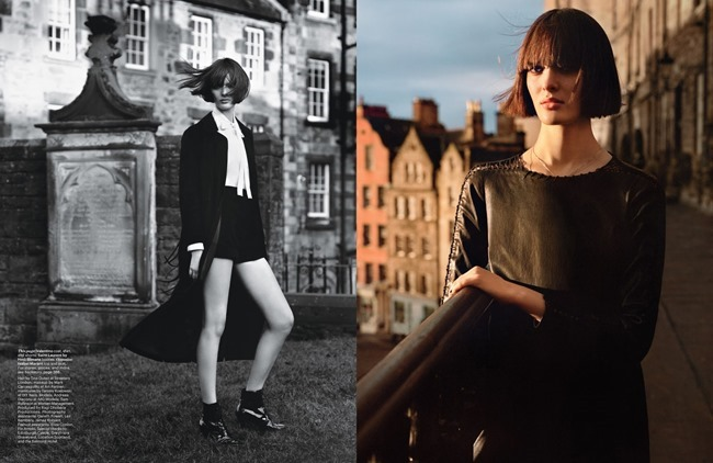 W MAGAZINE Sam Rollinson & Andreea Diaconu in Tough Love by Alasdair McLellan. Jane How, March 2014, www.imageamplified.com, Image Amplified (5)