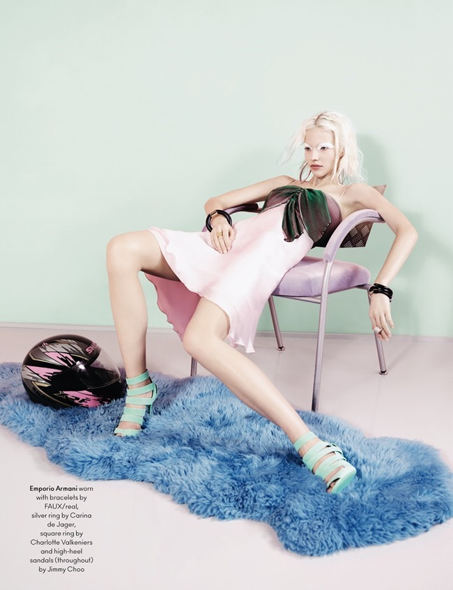 ANOTHER MAGAZINE Sasha Luss by Ben Toms. Mattias Karlsson, Spring 2014, www.imageamplified.com, Image Amplified (9)