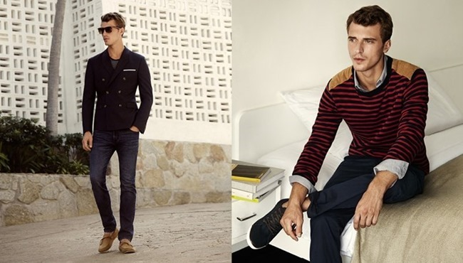 CAMPAIGN Clement Chabernaud in Naval Notes for H&M Spring 2014. www.imageamplified.comm, Image Amplified (1)