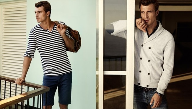 CAMPAIGN Clement Chabernaud in Naval Notes for H&M Spring 2014. www.imageamplified.comm, Image Amplified (3)