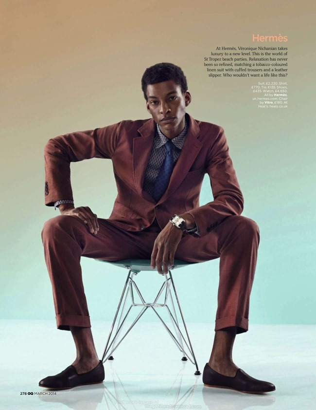 GQ MAGAZINE The Collections Spring 2014 by Guzman. Jo Levin, March 2014, www.imageamplified.com, Image Amplified (9)