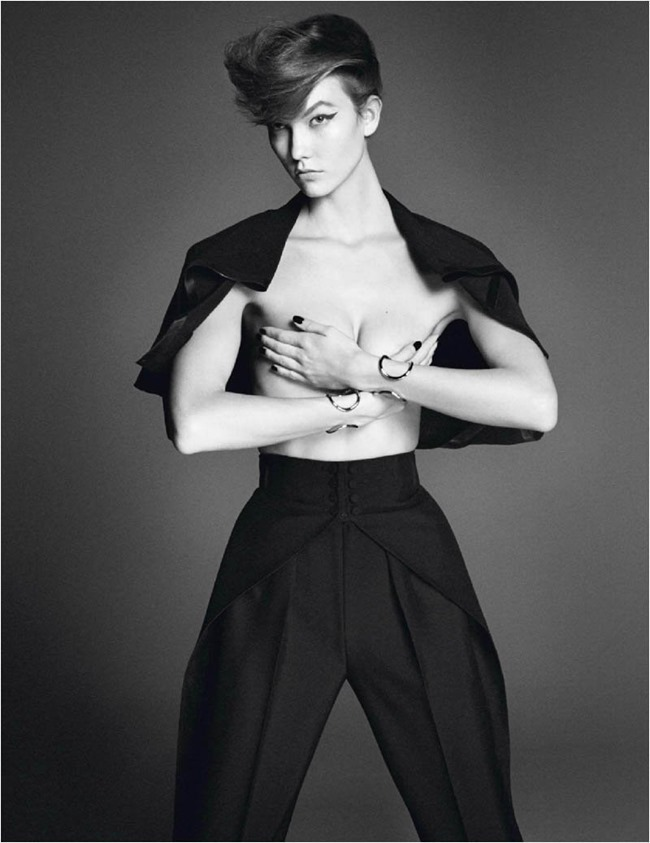 VOGUE PARIS Karlie Kloss in Affranchie by David Sims, March 2014, www.imageamplified.com, Image amplified (6)