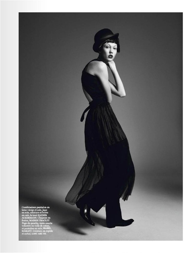 VOGUE PARIS Karlie Kloss in Affranchie by David Sims, March 2014, www.imageamplified.com, Image amplified (5)