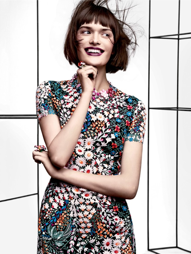 VOGUE MAGAZINE Petal Pushers by Craig McDean. Tabitha Simmons, March 2014, www.imageamplified.com, Image Amplified (5)
