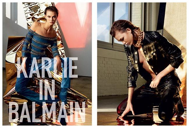 THE LAST MAGAZINE Karlie Kloss in Karlie In Balmain by Maciek Kobielski. Spring 2014, www.imageamplified.com, Image Amplified (3)