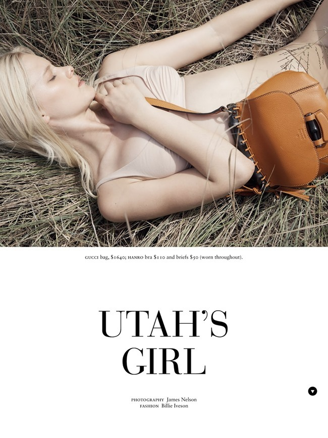 RUSSH MAGAZINE Hannah Holman in Utah's Girl by James Nelson. Billie Iveson, March 2014, www.imageamplified.com, Image Amplified (1)