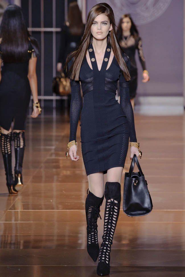 MILAN FASHION WEEK Versace RTW Fall 2014. www.imageamplified.com, Image Amplified (21)