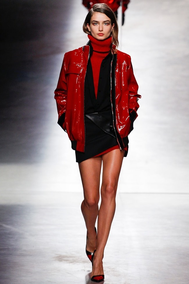 PARIS FASHION WEEK Anthony Vaccarello Fall 2014. www.imageamplified.com, Image Amplified (15)
