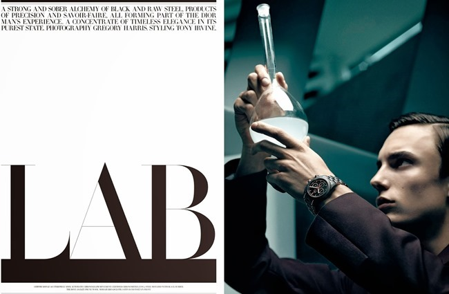 DIOR MAGAZINE Kyle Mobus in Lab by Gregory Harris. Tony Irvine, Spring 2014, www.imageamplified.com, Image Amplified (5)