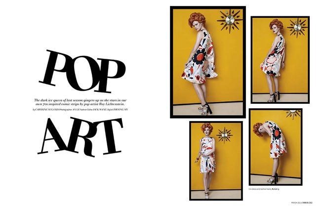 L'OFFICIEL SINGAPOR Kelly Mittendorf in Pop Art by An Le. Phuong My, March 2014, www.imageamplified.com, Image Amplified (1)