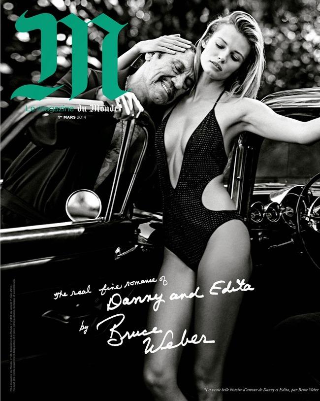 M LE MONDE Edita Vilkeviciute & Danny Trejo by Bruce Weber. Aleksandra Woronieck, March 2014, www.imageamplified.com, Image Amplified (2)