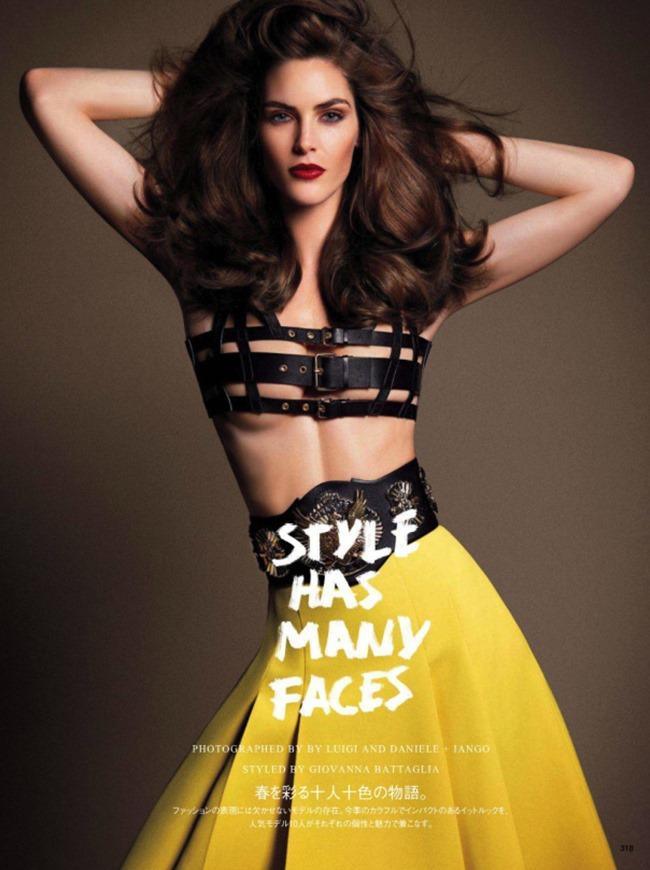 VOGUE JAPAN Style Has Many Faces by Daniele & Iango   Nasta Vojnovic. Giovanna Battaglia, April 2014, www.imageamplified.com, Image Amplified (3)