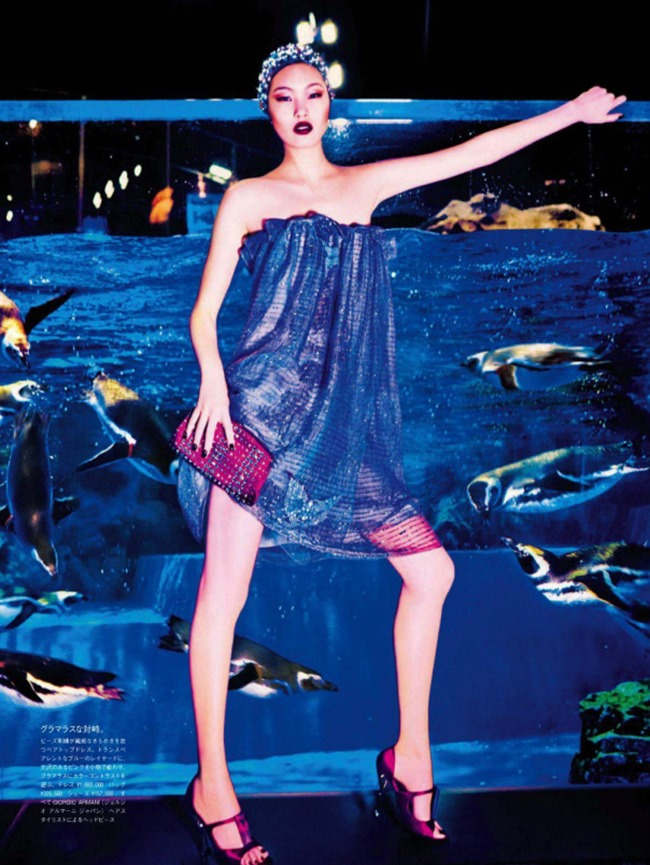VOGUE JAPAN Chiharu Okunugi in Beauty From Beneath The Sea by Ellen von Unwerth. Elisabeth Sulcer, April 2014, www.imageamplified.com, Image Amplified (4)