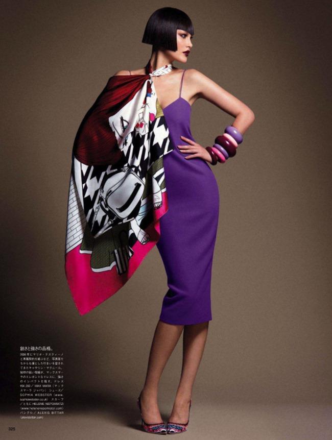 VOGUE JAPAN Style Has Many Faces by Daniele & Iango   Nasta Vojnovic. Giovanna Battaglia, April 2014, www.imageamplified.com, Image Amplified (9)