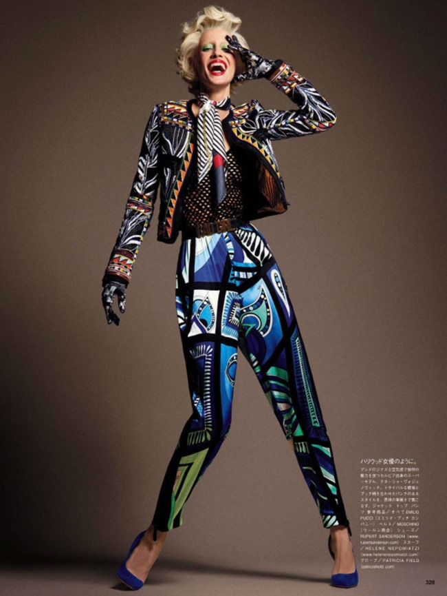VOGUE JAPAN Style Has Many Faces by Daniele & Iango   Nasta Vojnovic. Giovanna Battaglia, April 2014, www.imageamplified.com, Image Amplified (1)
