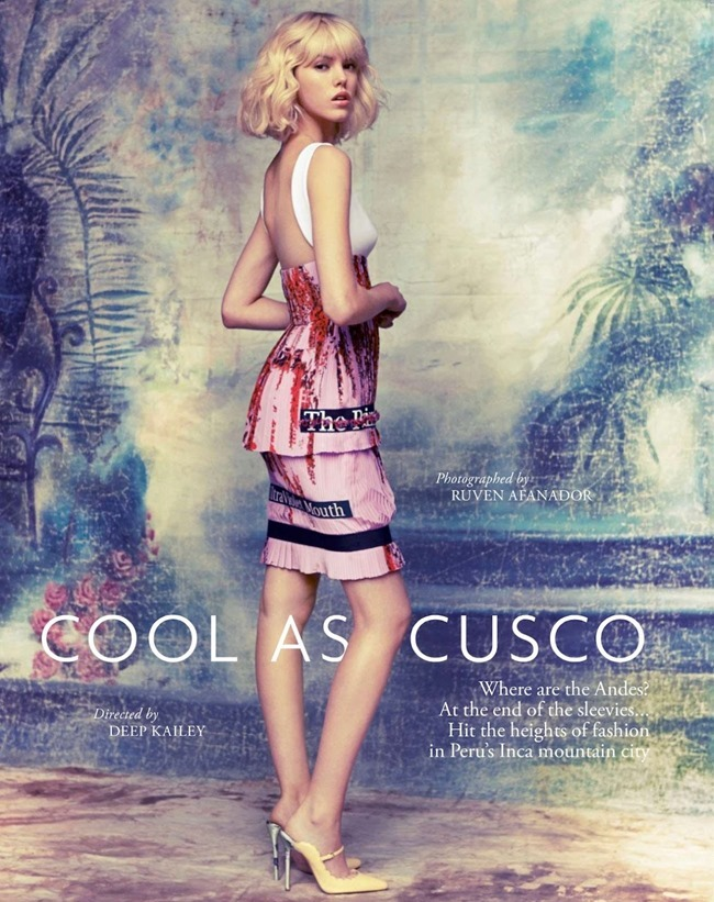 TATLER MAGAZINE Josefien Rodermans in Cool As Cusco by Ruven Afanador. Ailsa Miller, April 2014, www.imageamplified.com, Image amplified (1)