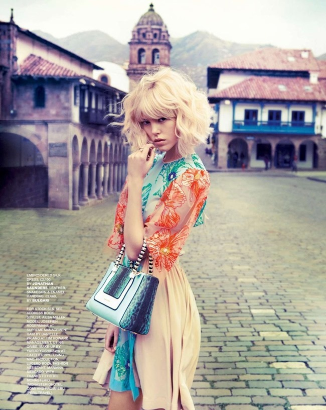 TATLER MAGAZINE Josefien Rodermans in Cool As Cusco by Ruven Afanador. Ailsa Miller, April 2014, www.imageamplified.com, Image amplified (10)