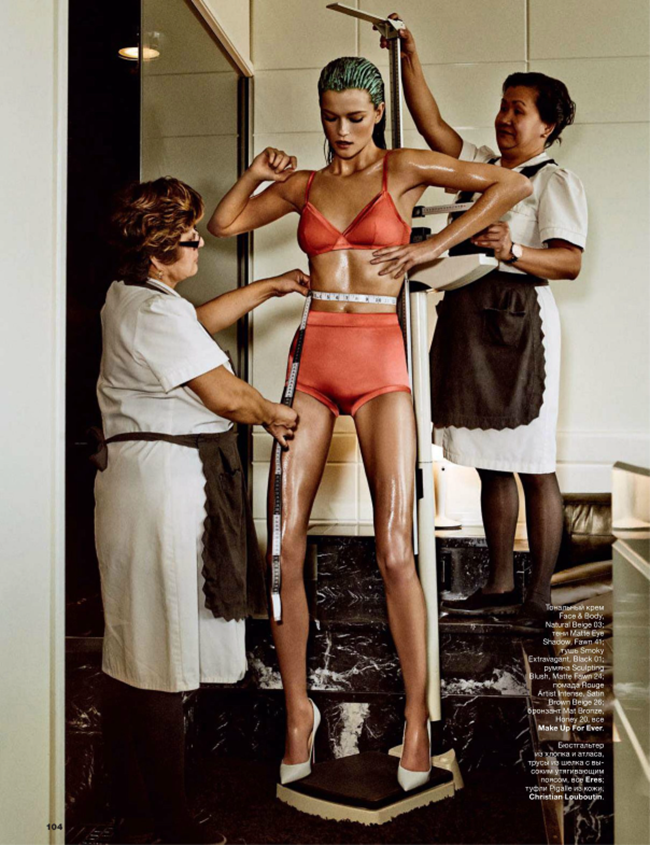 ALLURE MAGAZINE Kasia Struss in Create A Goddess by Giampaolo Sgura. Anya Ziourova, April 2014, www.imageamplified.com, Image Amplified (1)