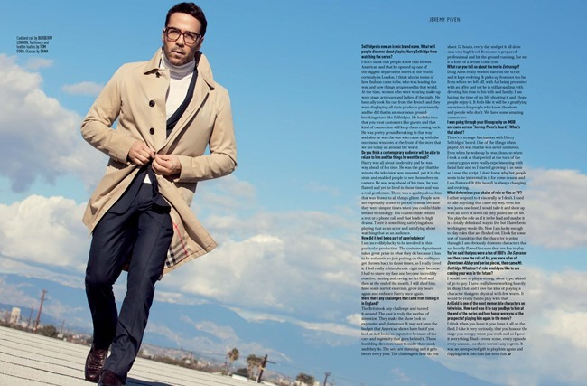 AUGUST MAN MAGAZINE Jeremy Piven in The Visceral Approach by Karl Simone. Dave Thomas, Spring 2014, www.imageamplified.com, Image Amplified (7)