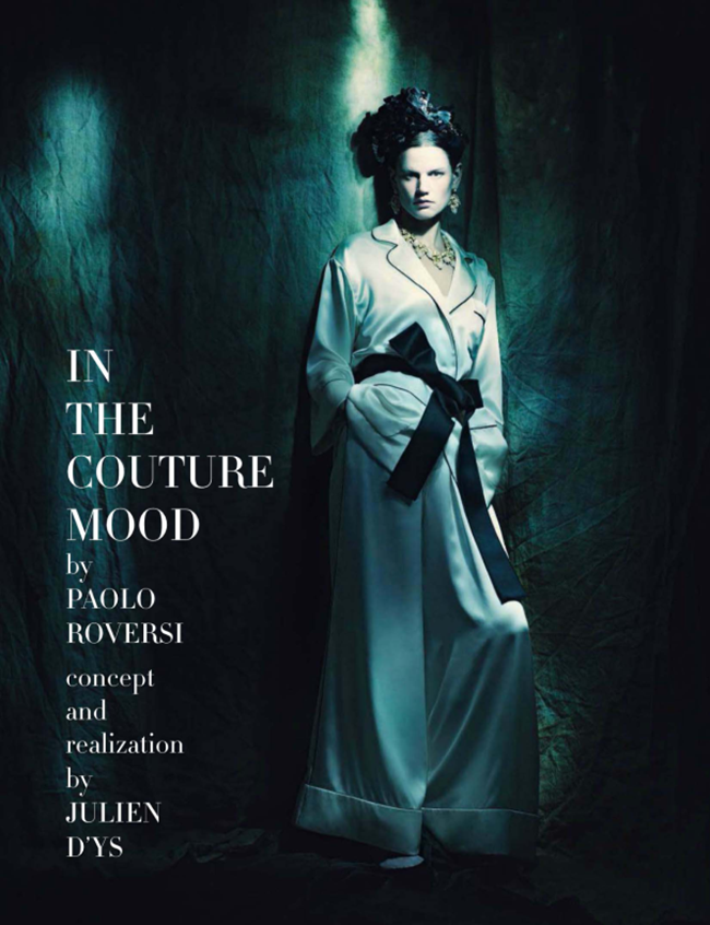 VOGUE ITALIA Saskia de Brauw in In The Couture Mood by Paolo Roversi. Julien D'Ys, March 2014, www.imageamplified.com, Image Amplified (1)