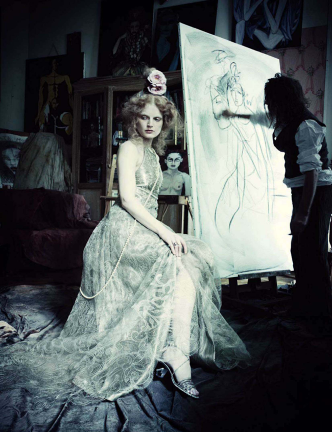 VOGUE ITALIA Guinever Van Seenus by Paolo Roversi. Julien D'Ys, March 2014, www.imageamplified.com, Image Amplified (4)
