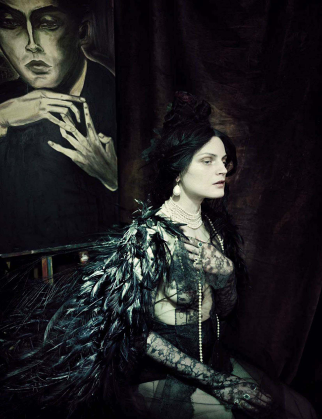 VOGUE ITALIA Guinever Van Seenus by Paolo Roversi. Julien D'Ys, March 2014, www.imageamplified.com, Image Amplified (6)