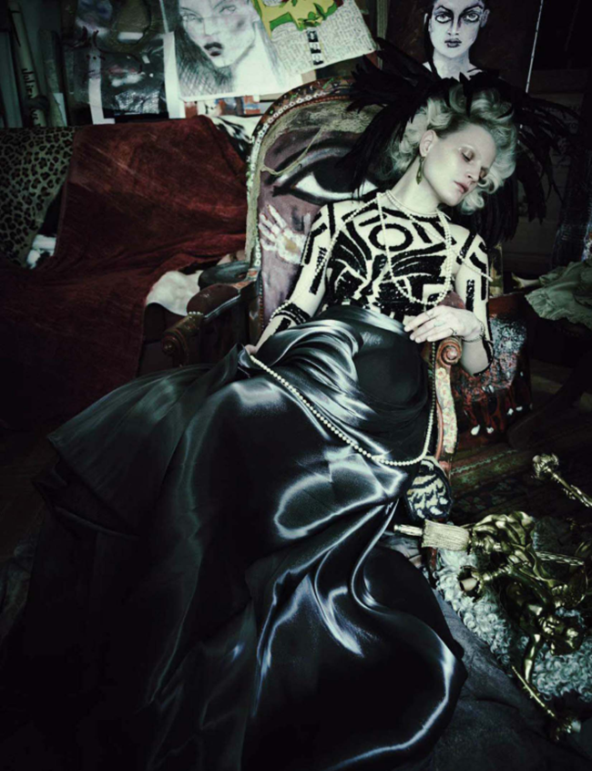 VOGUE ITALIA Guinever Van Seenus by Paolo Roversi. Julien D'Ys, March 2014, www.imageamplified.com, Image Amplified (9)