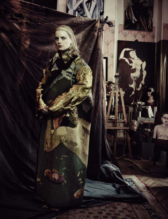 VOGUE ITALIA Guinever Van Seenus by Paolo Roversi. Julien D'Ys, March 2014, www.imageamplified.com, Image Amplified (11)