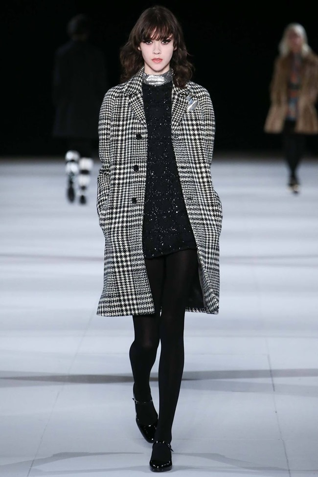 PARIS FASHION WEEK Saint Laurent RTW Fall 2014. www.imageamplified.com, Image Amplified (9)