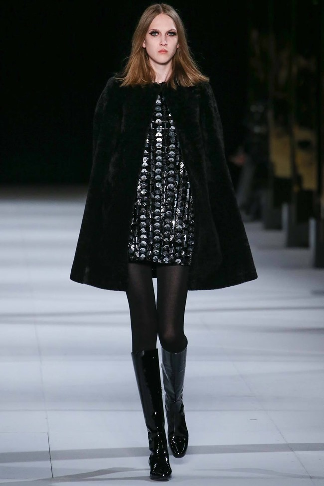 PARIS FASHION WEEK Saint Laurent RTW Fall 2014. www.imageamplified.com, Image Amplified (24)