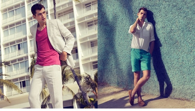 CAMPAIGN Sean O'Pry in Casual Tailoring for H&M Spring 2014. www.imageamplified.com, Image Amplified (1)