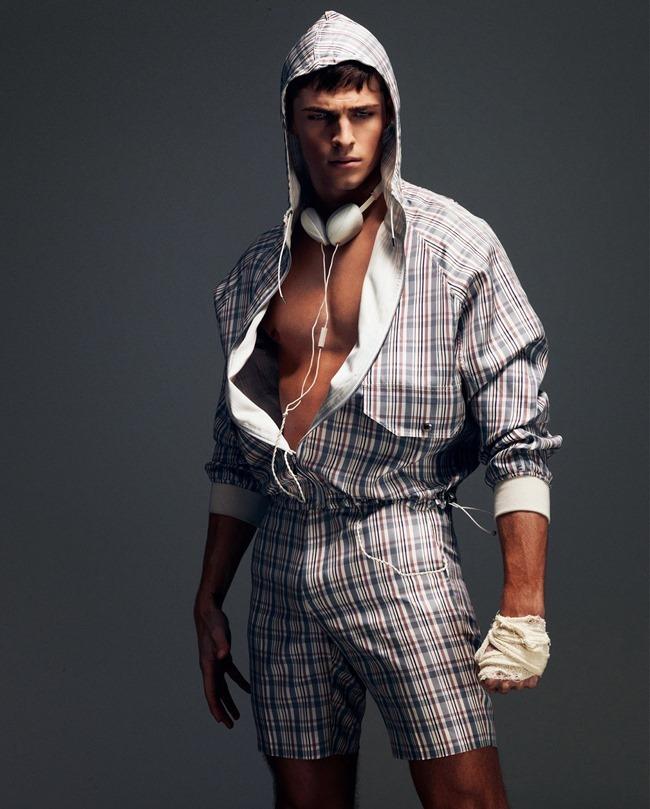 HOW TO SPEND IT MAGAZINE Edward Wilding in Sportswear Inspired Menswear by Damian Foxe. Spring 2014, www.imageamplified.com, Image Amplified (10)