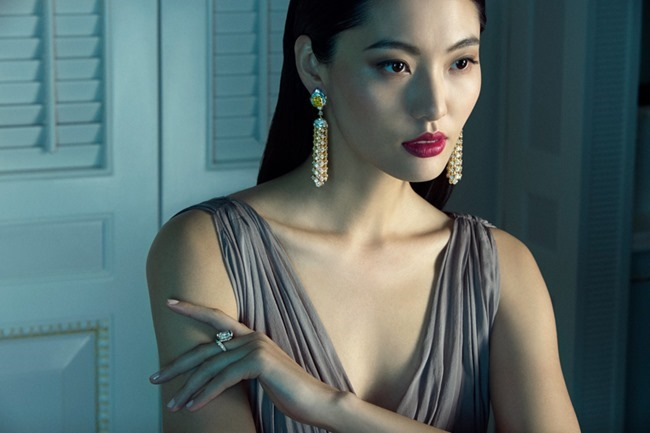 PRESTIGE MAGAZINE Du Juan & Vonnie Chen in Van Cleef & Arpels by Richard Ramos. Denise Ho, Spring 2014, www.imageamplified.com, Image amplified (7)