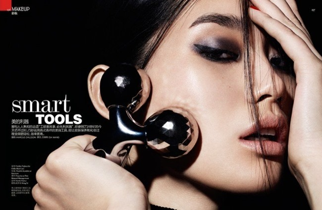 VOGUE CHINA Ming Xi in Smart Tools by Marcus Ohlsson. Yukiko Tajima, Spring 2014, www.imageamplified.com, Image amplified (2)