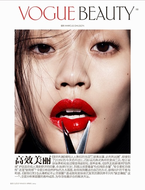 VOGUE CHINA Ming Xi in Smart Tools by Marcus Ohlsson. Yukiko Tajima, Spring 2014, www.imageamplified.com, Image amplified (3)