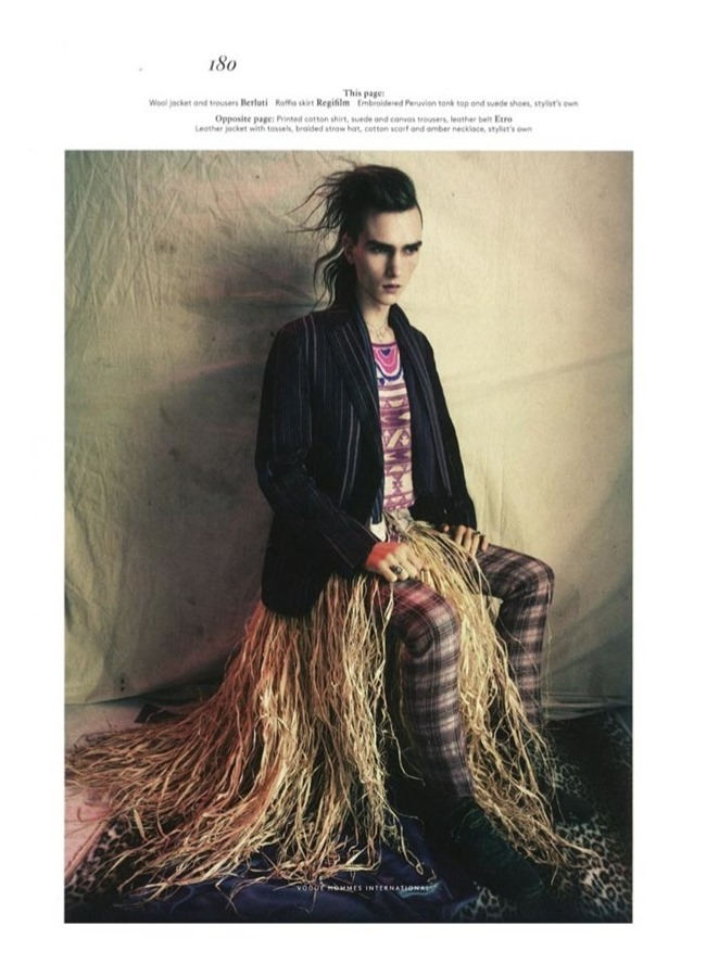 VOGUE HOMMES INTERNATIONAL Gryphon O'Shea in Exhile by Paolo Roversi. Spring 2014, www.imageamplified.com, Image Amplified (9)