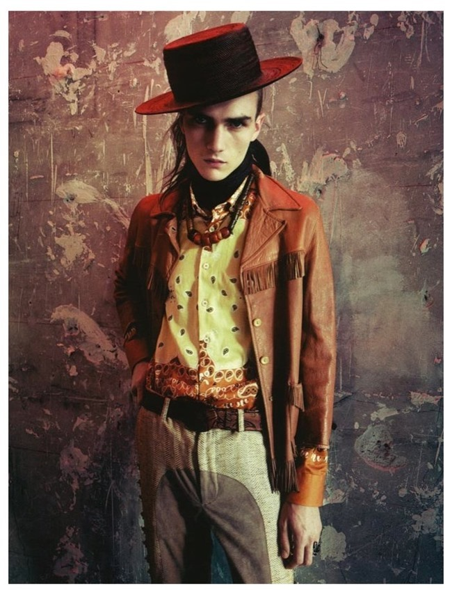 VOGUE HOMMES INTERNATIONAL Gryphon O'Shea in Exhile by Paolo Roversi. Spring 2014, www.imageamplified.com, Image Amplified (2)