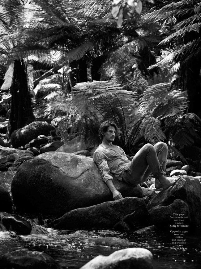 VOGUE HOMMES INTERNATIONAL Jarrod Scott in Australia by Mark Segal. Azza Yousif, Spring 2014, www.imageamplified.com, Image Amplified (1)