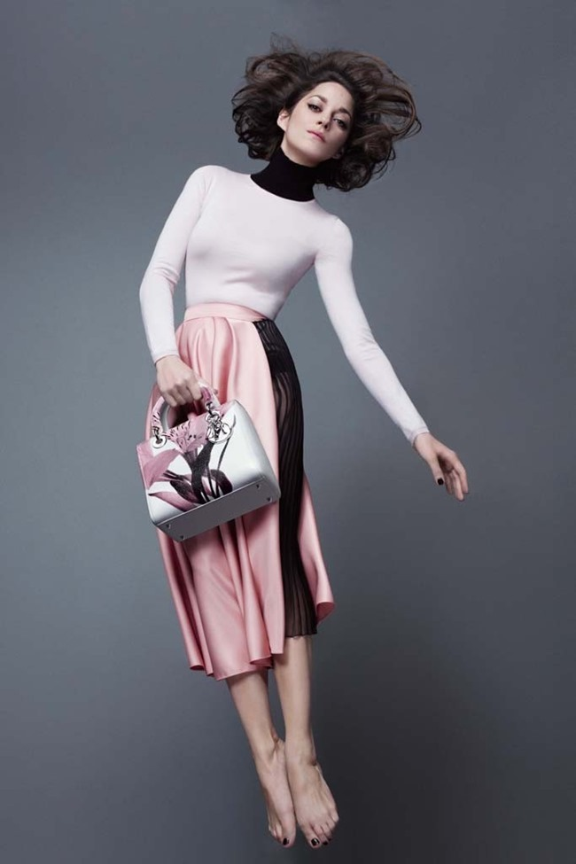 CAMPAIGN Marion Cotillard for Lady Dior Pre-Fall 2014 by Jean-Baptiste Mondino, www.imageamplified.com, Image Amplified (2)