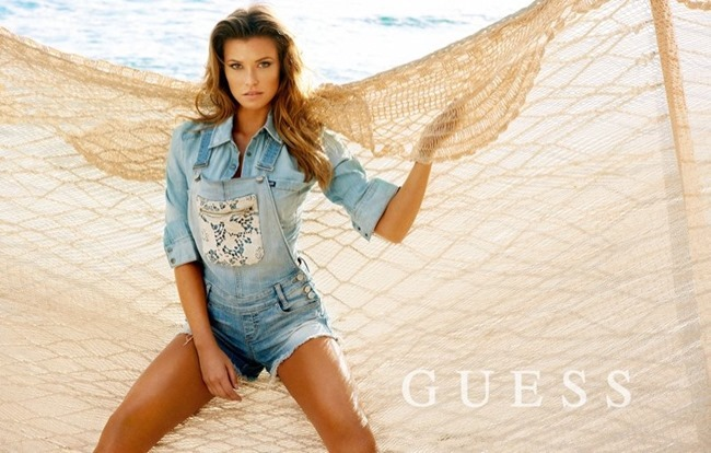 CAMPAIGN Samantha Hoopes, Danielle Knudson & Olivia Greenfield for Guess Spring 2014 by Yu Tsai. Veronique Droulez, www.imageamplified.com, Image Amplified (4)