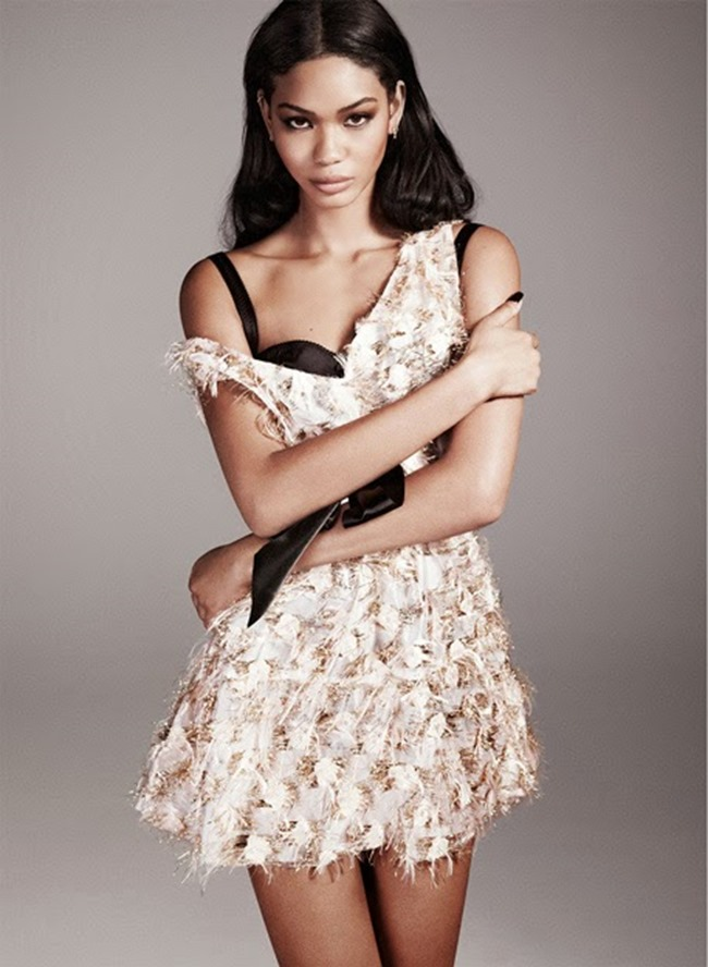THE EDIT MAGAZINE Chanel Iman in Guiding Light by Paul Maffi. Maya Zepinic, March 2014, www.imageamplified.com, Image Amplified (3)